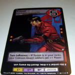 G.I.Joe Trading card Game 2004 113/114 No 113 Xamot (rare) @sold@